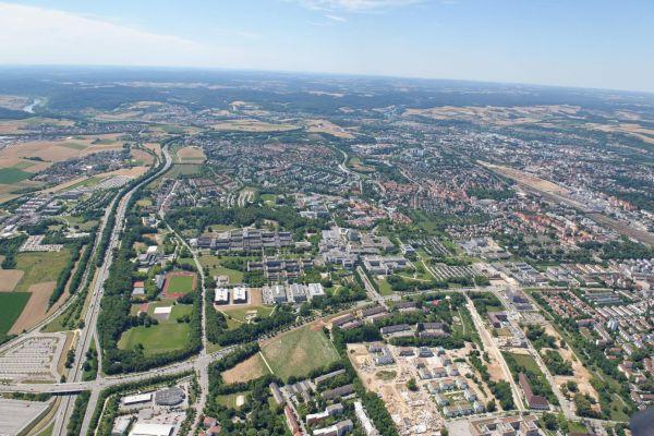 Luftaufnahme Regensburg