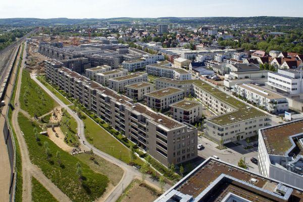 Wohnquartier in Regensburg