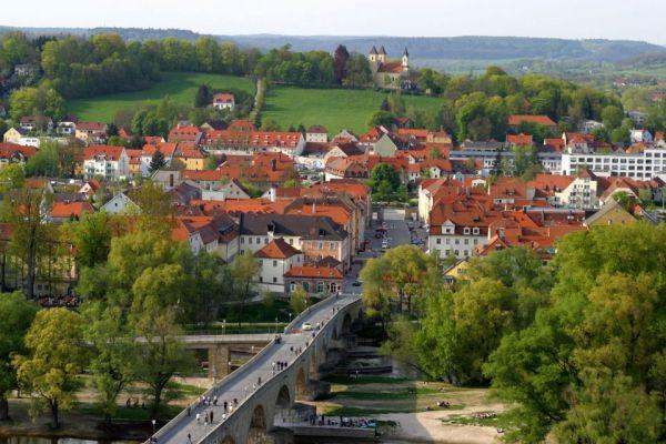 Regensburg von oben
