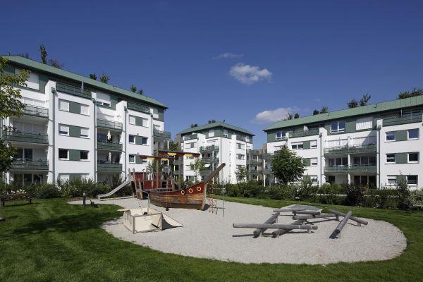 Wohngebiet in Regensburg